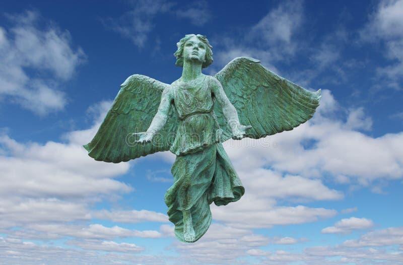 Fliegen-Engel stockbilder