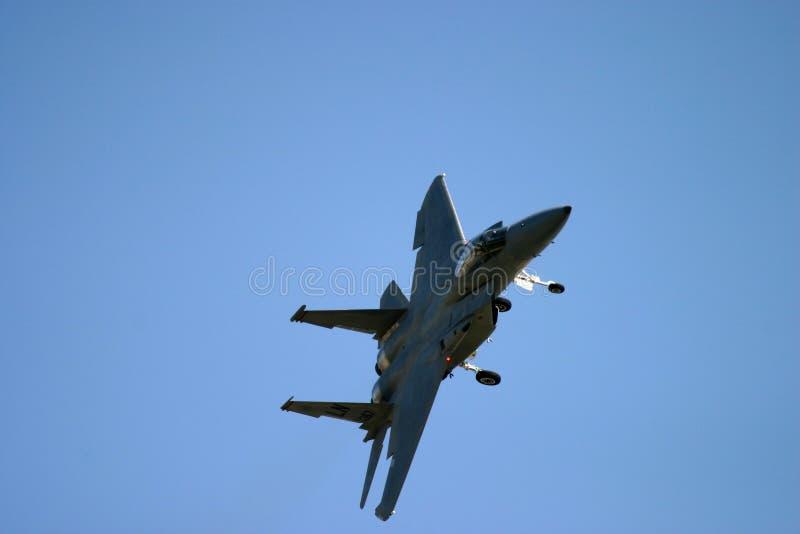 Fliegen Grummans F-14 Tomcat stockbild