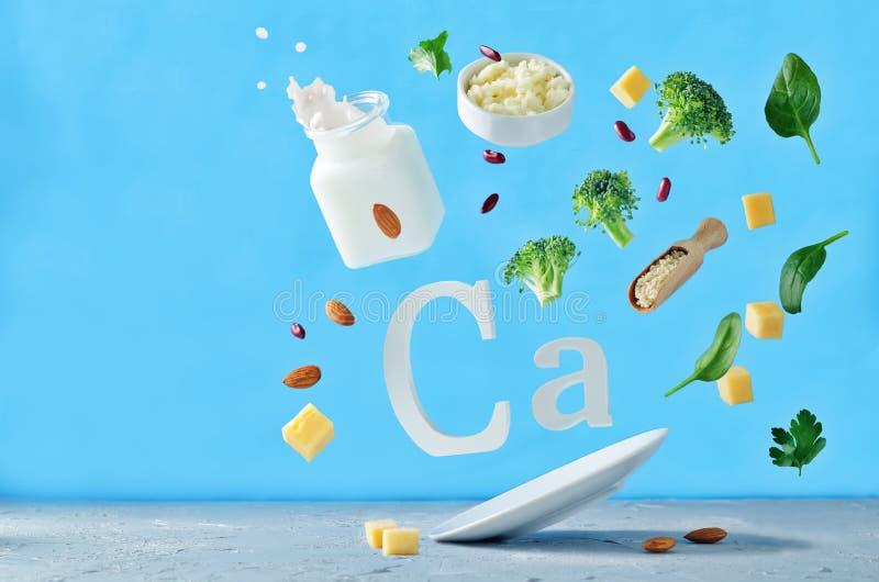 Fliegennahrungsmittel reich im Kalzium stockbild