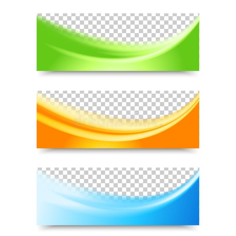 Fliegerschablonen-Titeldesign vektor abbildung