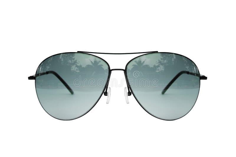 Fliegersonnenbrille stockfotos