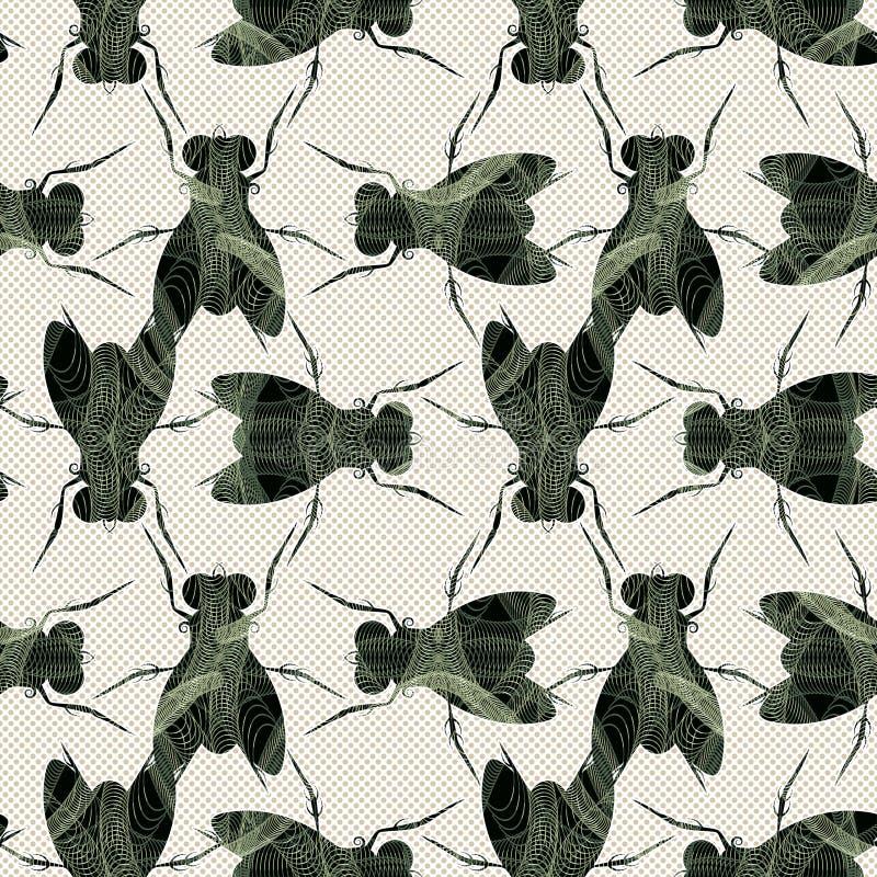 Download Flies texture stock vector. Illustration of nature, artwork - 25906021