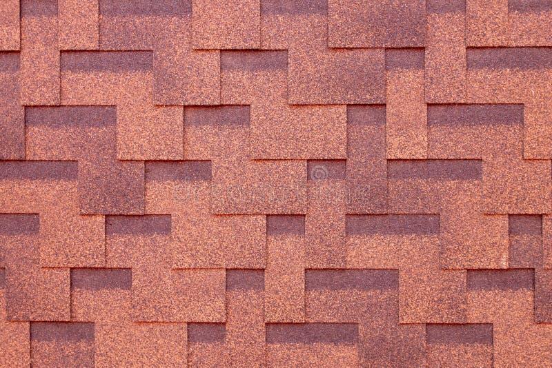 Fliese auf dem Dach Hintergrund von Schindeln Kreativer Hintergrund lizenzfreie stockbilder