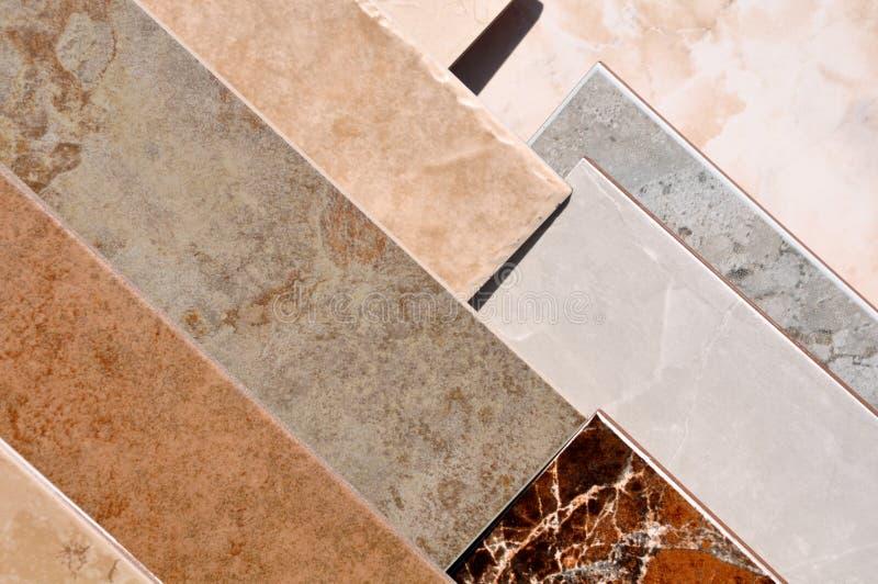 Fliese-Fußboden-Probe lizenzfreie stockfotografie
