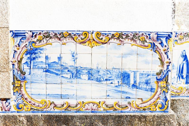 Fliesen (azulejos), Portugal lizenzfreie stockbilder