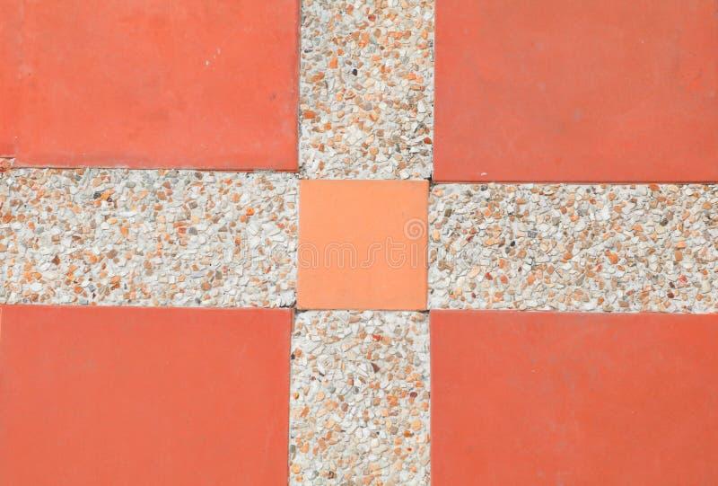 Fliesenboden-Beschaffenheitssandstein- oder Steinwäschehintergrund stockfoto