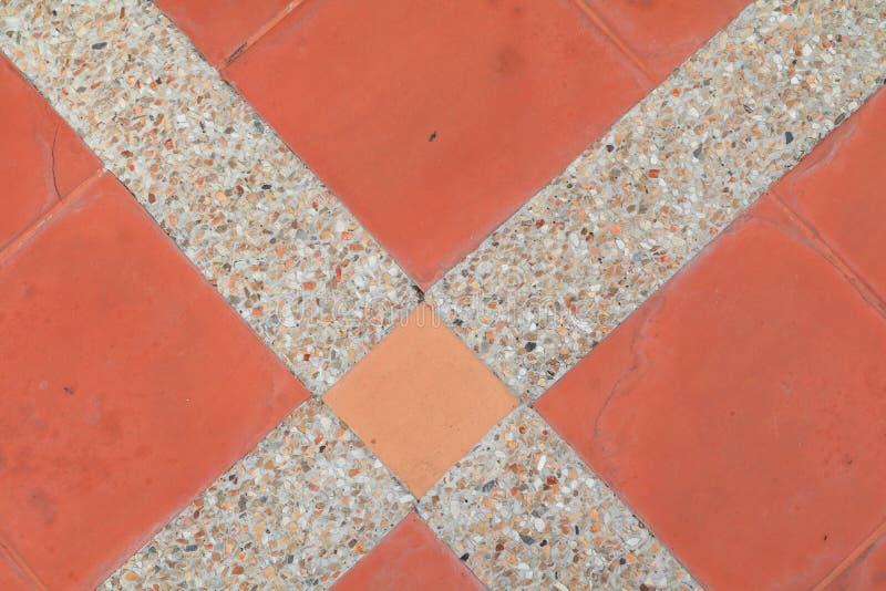 Fliesenboden-Beschaffenheitssandstein- oder Steinwäschehintergrund lizenzfreie stockbilder