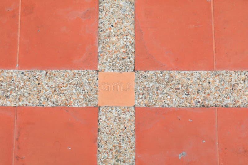 Fliesenboden-Beschaffenheitssandstein- oder Steinwäschehintergrund lizenzfreies stockfoto