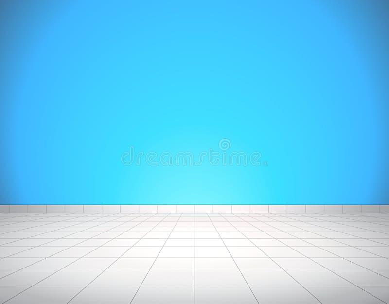 Fliesenboden und Wand lizenzfreies stockbild