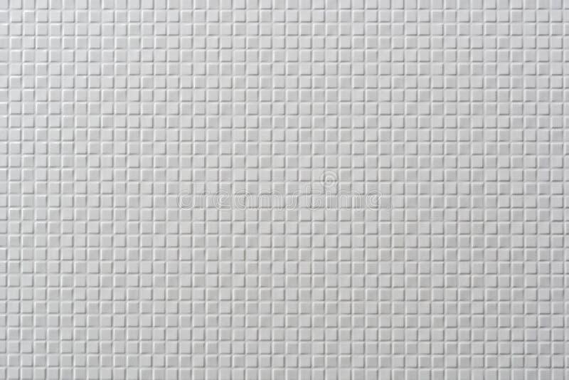 Fliesenmosaikweiß lizenzfreies stockfoto