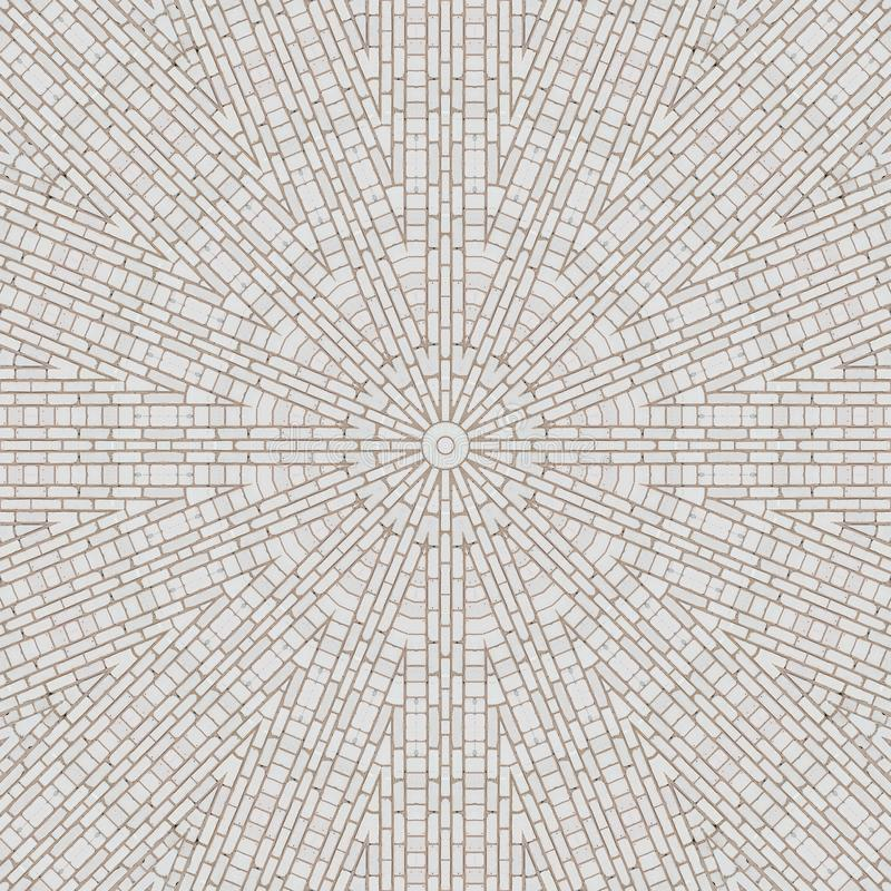 Fliesenmusterkaleidoskop-Zusammenfassungsbl?cke symmetrie vektor abbildung