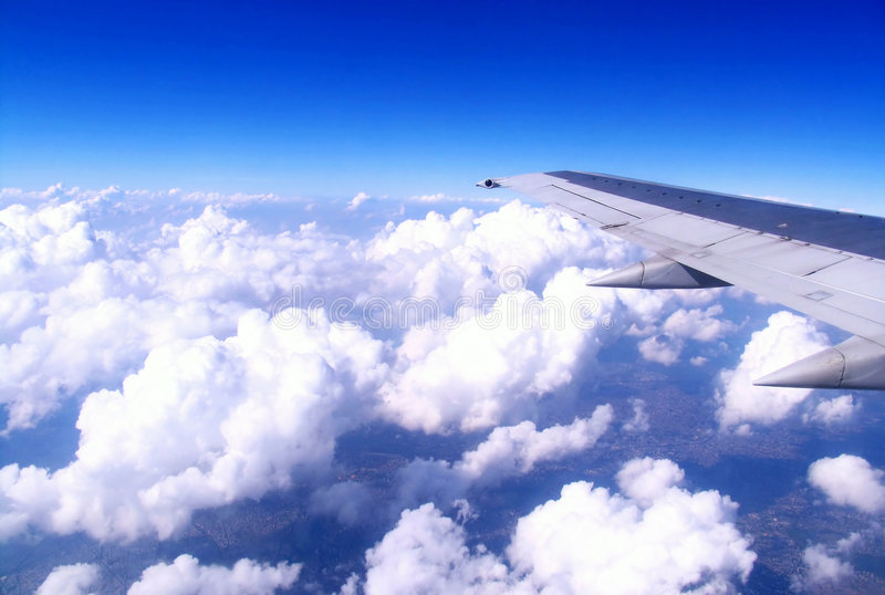 Flight royalty free illustration