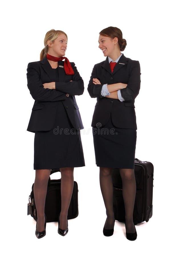 Download Flight Attendants Talking Together Stock Photo - Image: 24110620