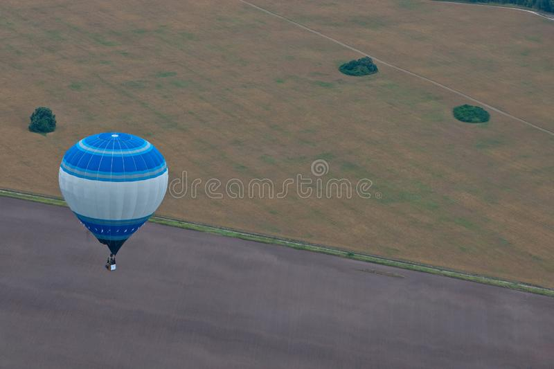 Download Flight on baloon stock photo. Image of adventure, bright - 24273716