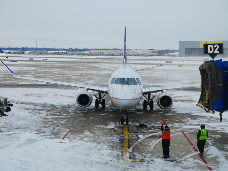 Flight delays. Airline delays are often caused by inclement weather and personnel shortages: Flight Crew, Aircraft / Flight Engineers and on arrival, Ground stock photos