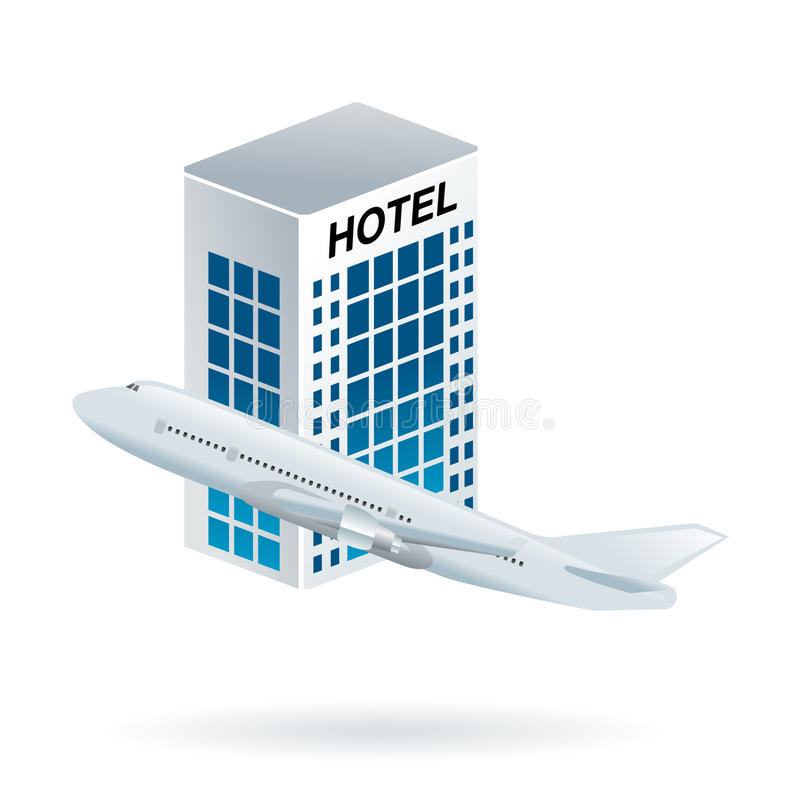 Download Flight And Hotel Travel Option Stock Vector - Image: 14719575