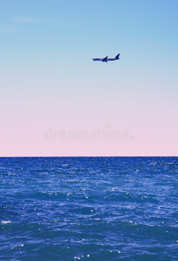Download Flight overseas stock image. Image of tropical, vacation - 2941437