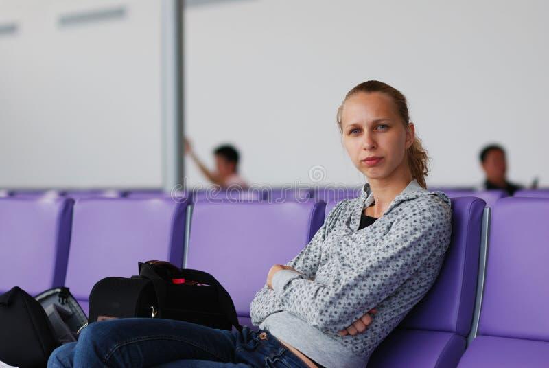 flight waiting στοκ εικόνα