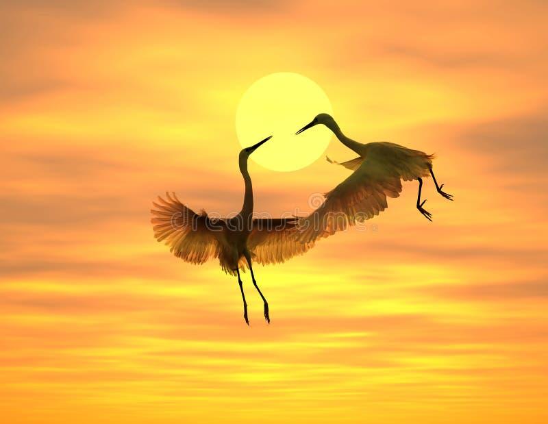 flighting ptak obrazy stock