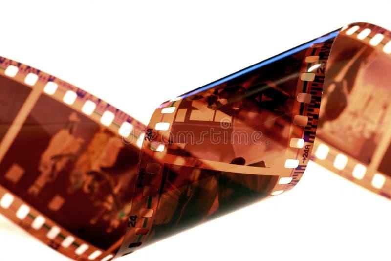 Flilm Streifen lizenzfreie stockfotos