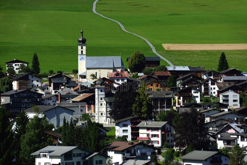 Flims, Graubunden, Switzerland royalty free stock photos