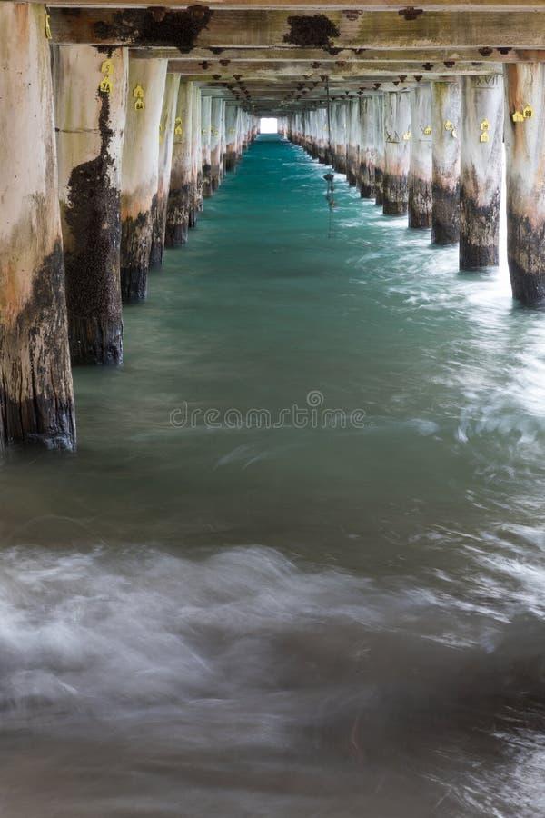 Flinders Pier Victoria, Australia imagen de archivo libre de regalías