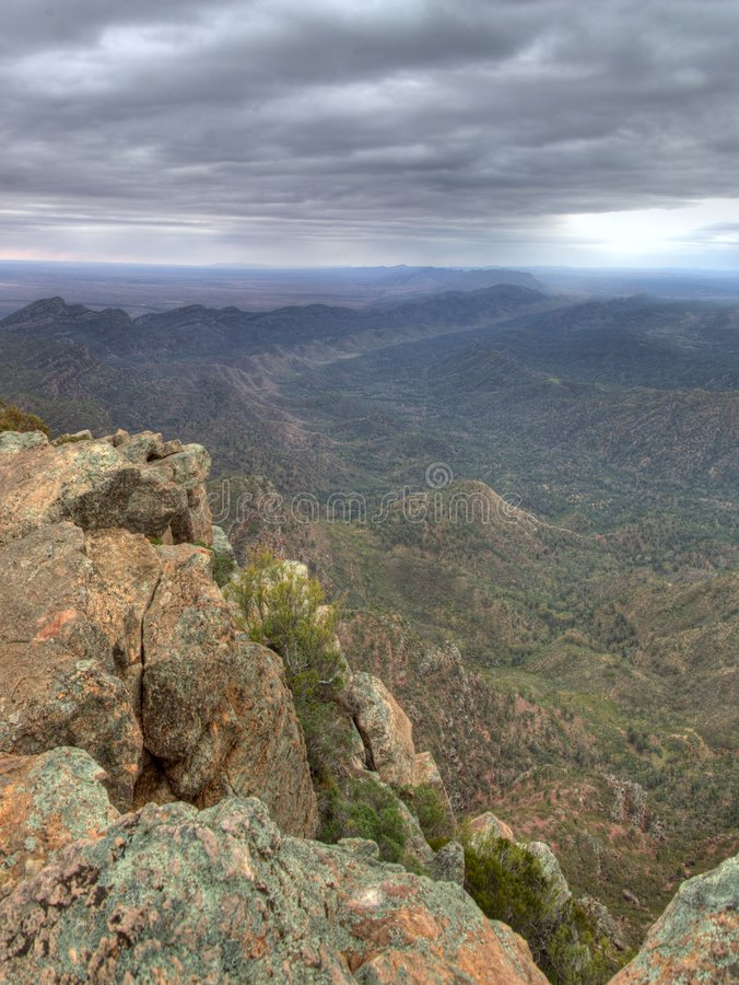 Flinders Ranges National Park royalty free stock image