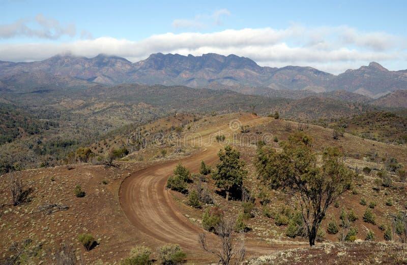 Flinders Rozciąga się Park Narodowy obraz royalty free