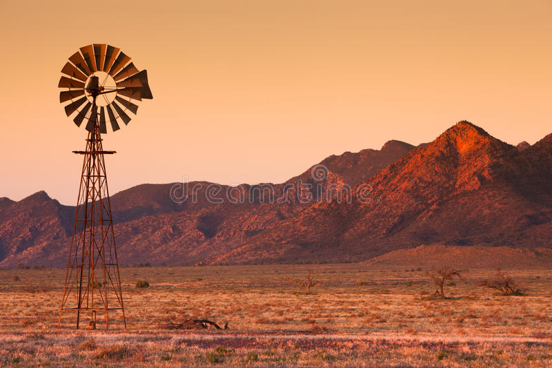 Flinders-Windmühle lizenzfreie stockfotografie