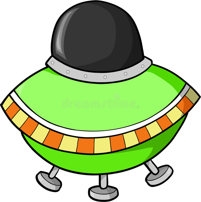 Fling Saucer Royalty Free Stock Photo
