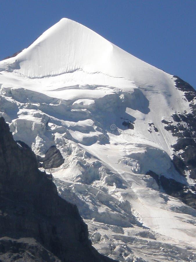 Flinsteraarhorn Grindelwald Suisse images libres de droits