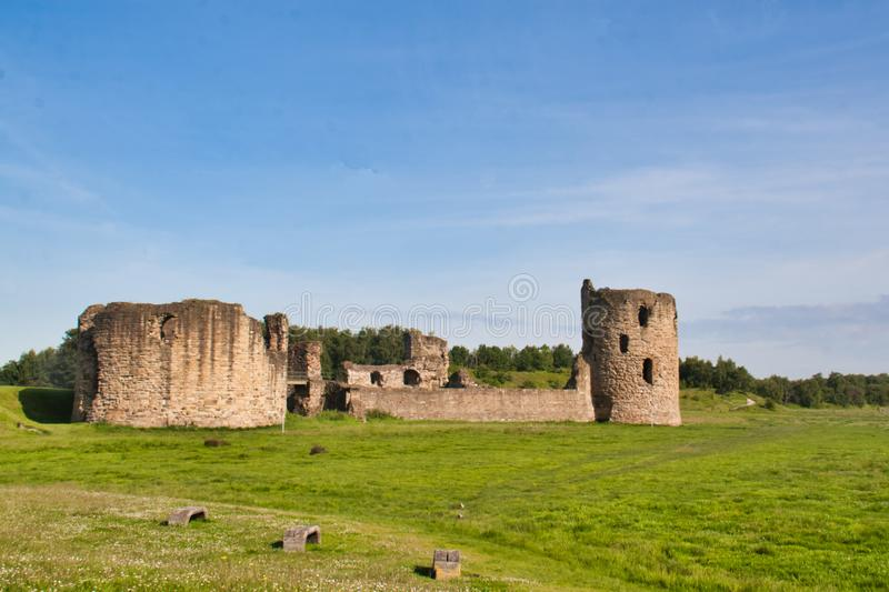 Flint Castle fotos de stock royalty free