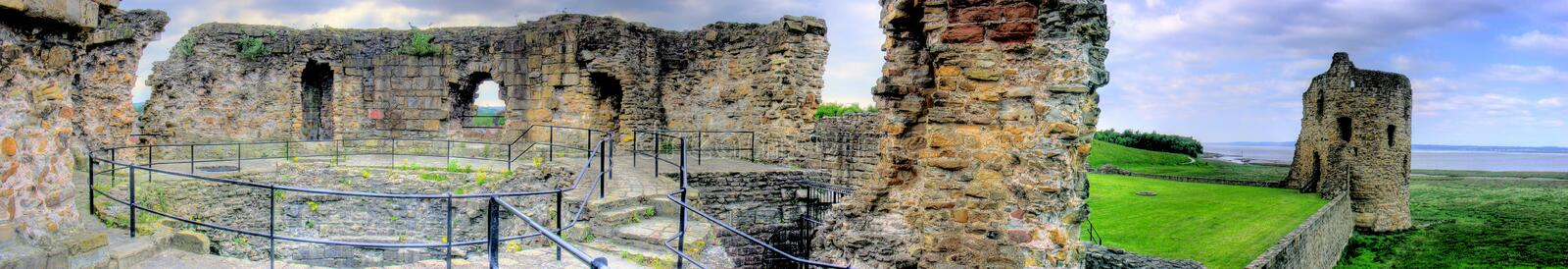 Download Flint Castle - Panorama stock photo. Image of north, flintshire - 11243932