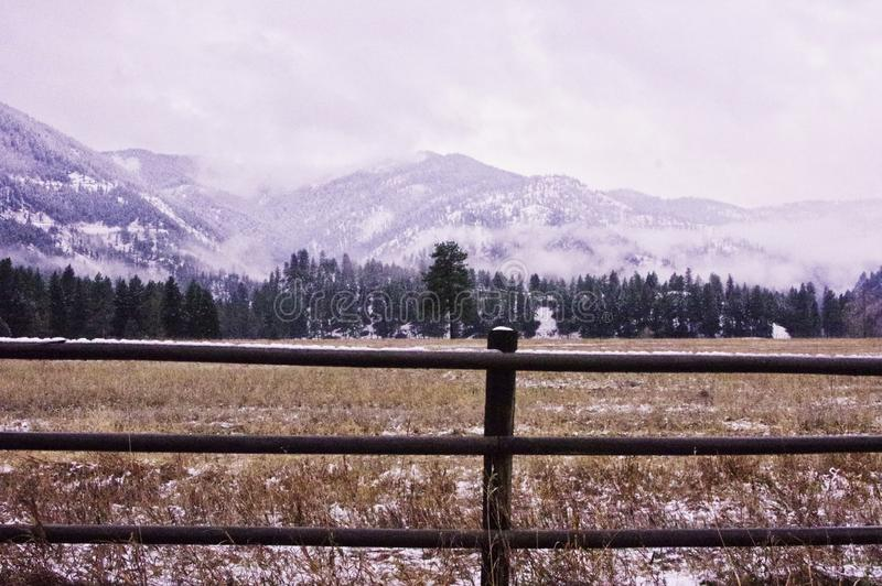 Flint Range, Montana photos stock