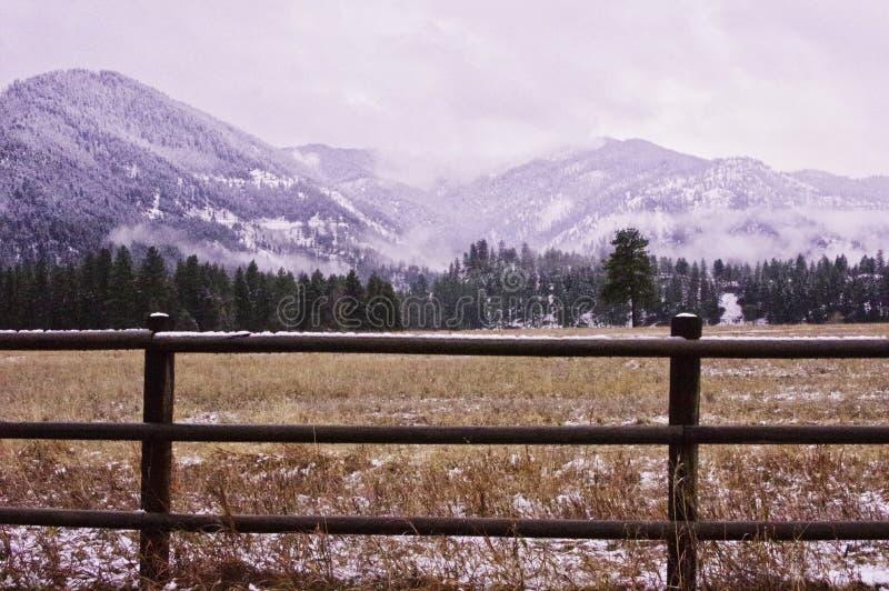 Flint Range, Montana images libres de droits