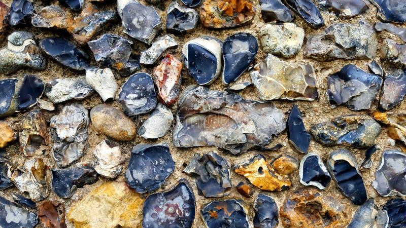 Flint Wall stock foto's