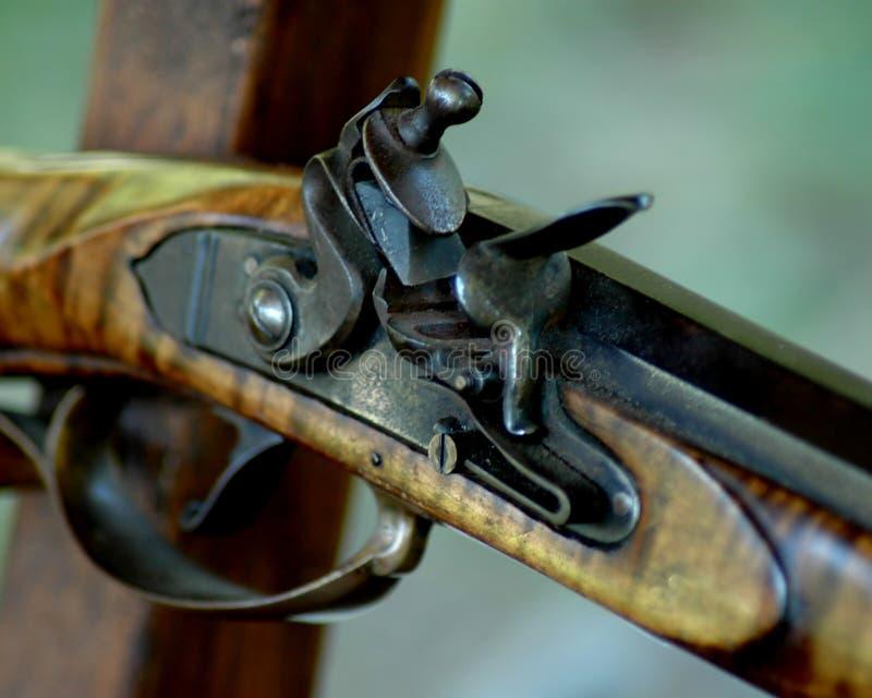 Flintlock royalty-vrije stock fotografie