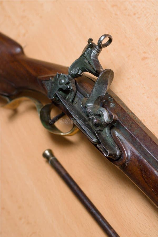 Flintlockgewehr stockfoto