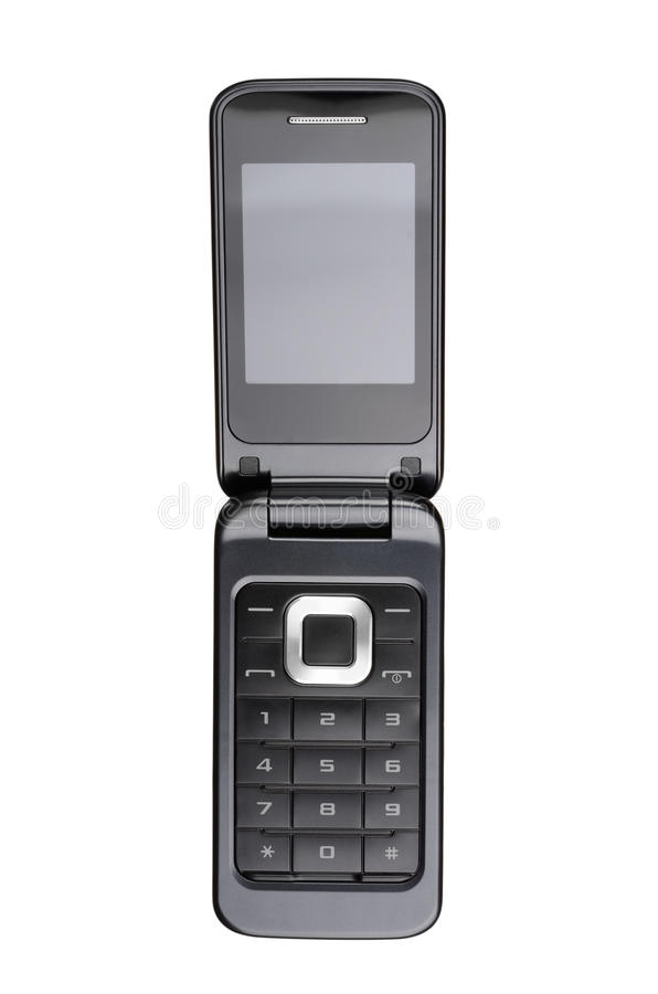 Flip cell phone royalty free stock photography