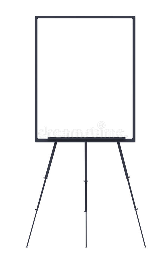 Download Flip chart stock illustration. Image of teaching, blank - 23071017