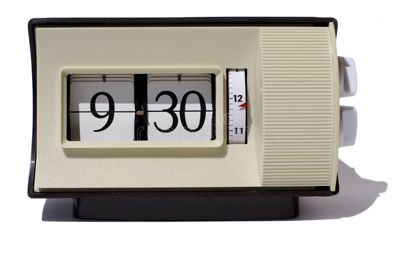 Download Flip clock numbers stock image. Image of counting, future - 959587