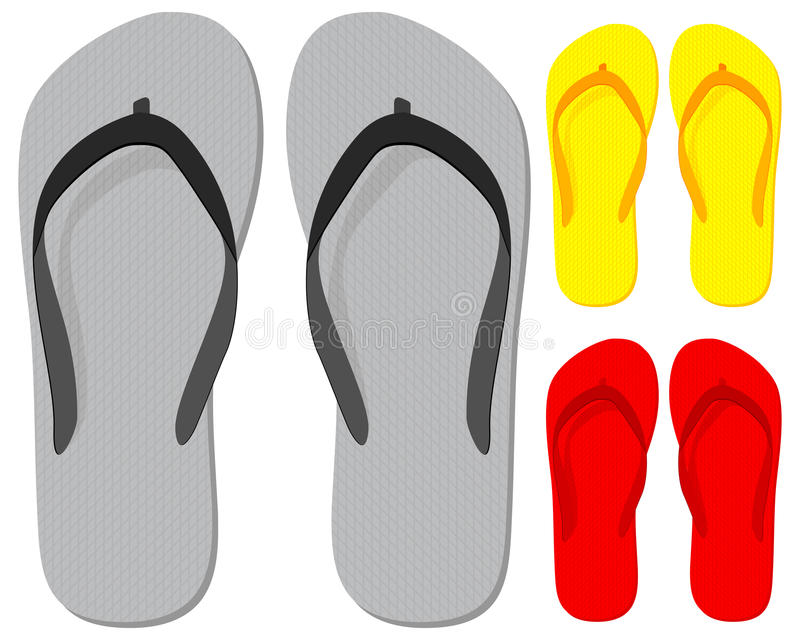 Flip-flop vector illustration