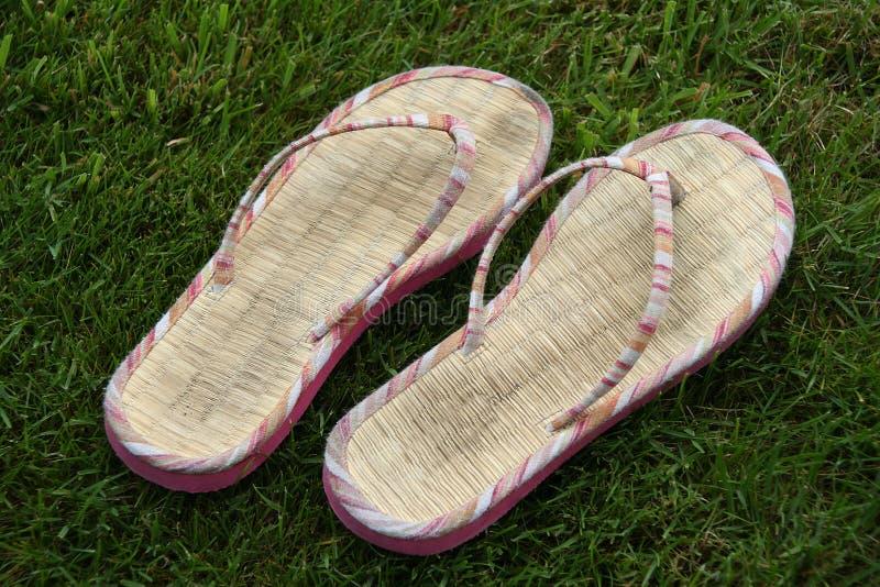 Download Flip-flop imagen de archivo. Imagen de hierba, sandals - 183271