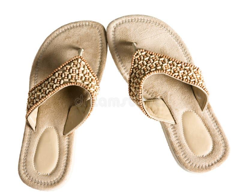Flip-flop do verão foto de stock
