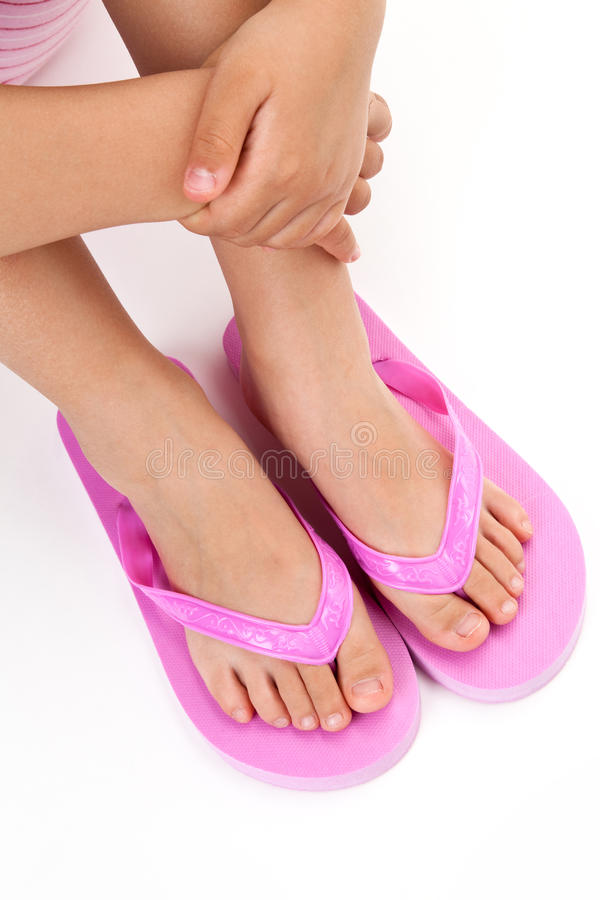 Flip flop sandal royalty free stock photos