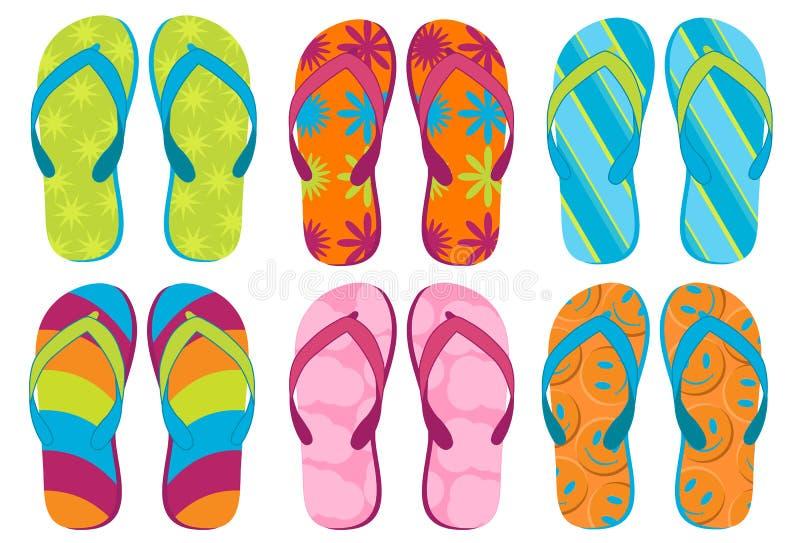 Flip Flops vector illustration