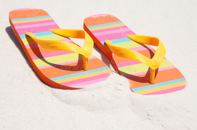 Flip flops stock photos