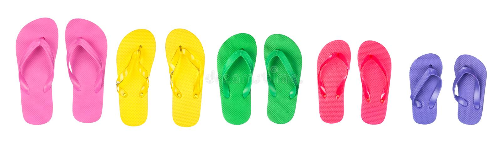 Download Flip flops stock photo. Image of flops, thong, pink, isolated - 26316454