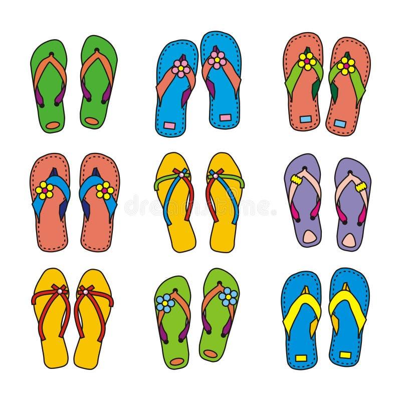 Flip-flops Stock Photo