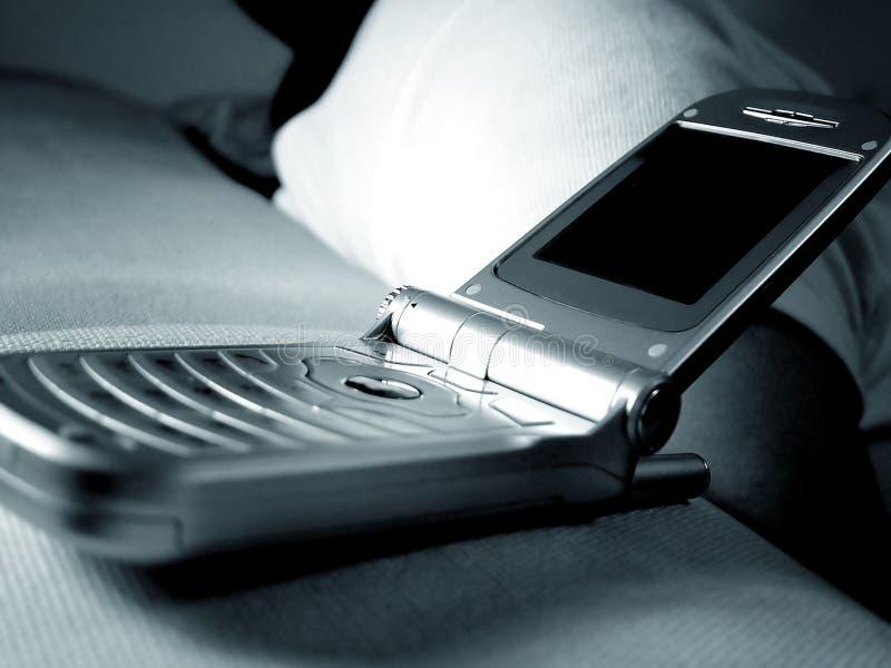 Flip handphone royalty free stock photo